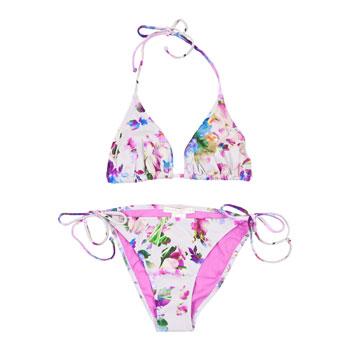 Zara bikini a fiori