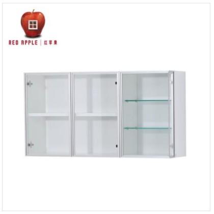 四呎白亮光玻璃壁柜D012G – 紅蘋果 | 紅蘋果傢俬 | Red Apple |紅蘋果火炭特賣場