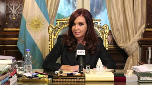 The first woman President to be elected in Argentina was Cristina Fernandez de Kirchner.
