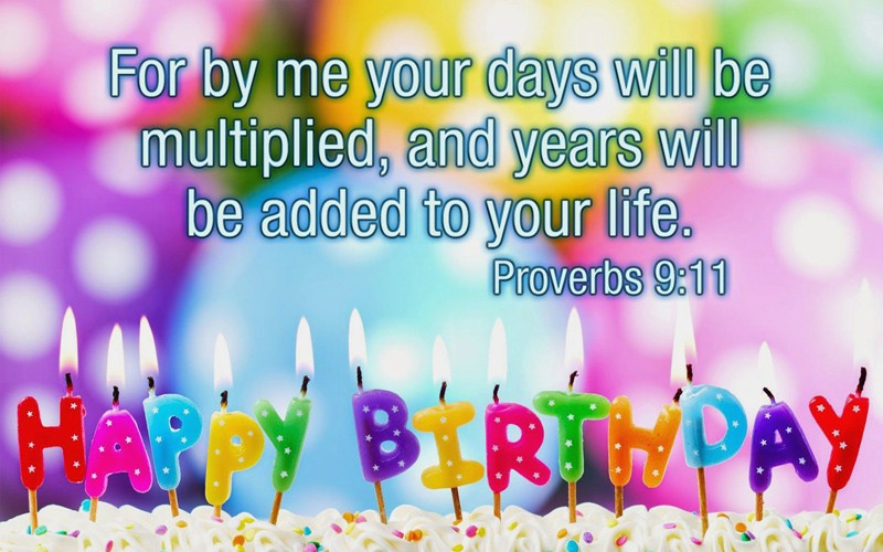 Birthday Card Message With a Christian Sentiment