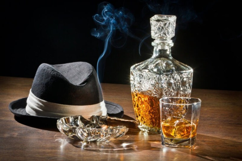 What is the purpose of a decanter for whiskey