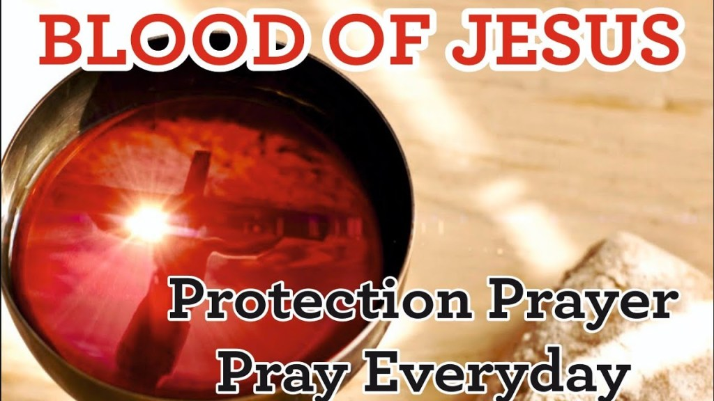 How can you plead the blood of Jesus in prayer over your specific needs?