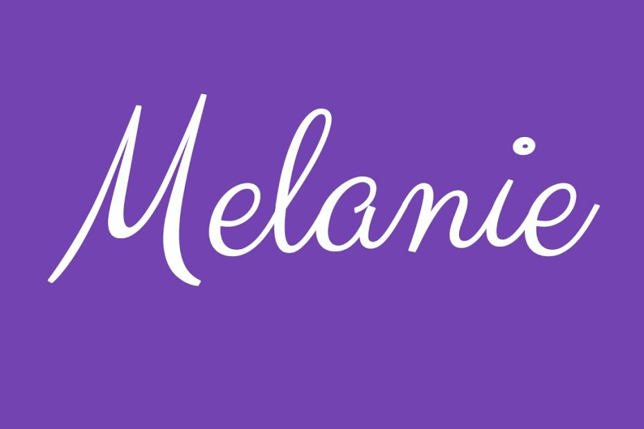 Biblical meaning of the name melanie