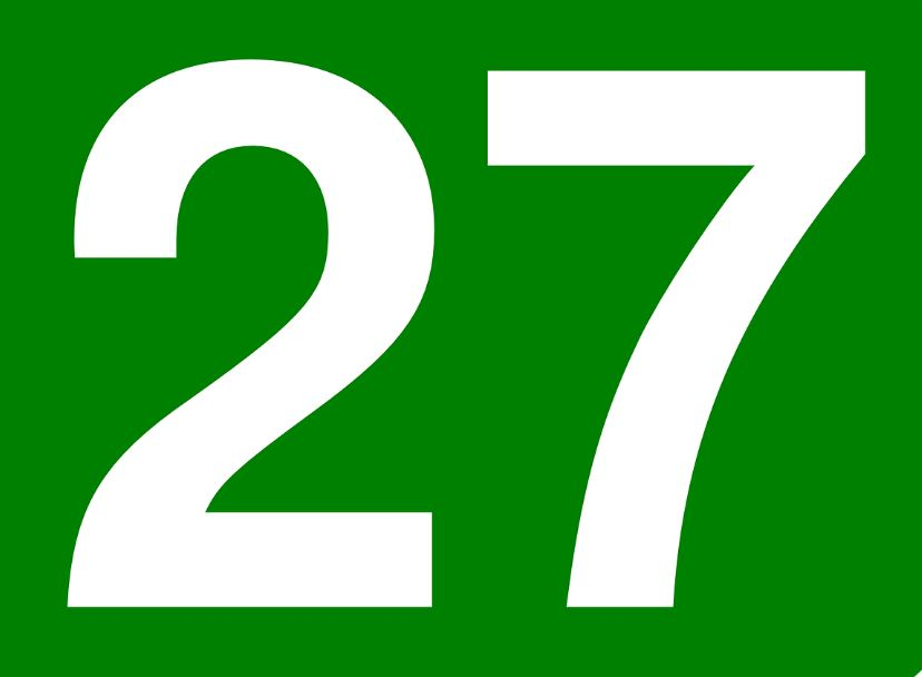 THE MEANING OF THE NUMBER 27: NUMEROLOGY