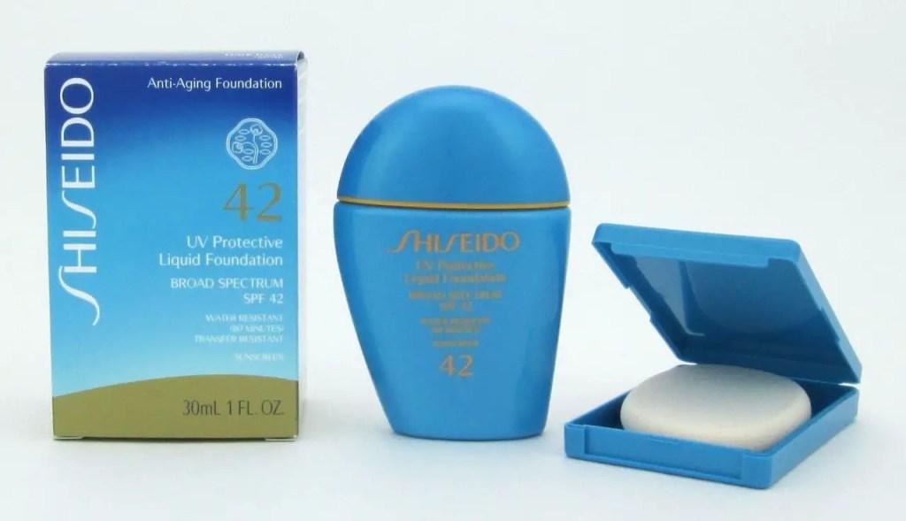 "UV Protective Liquid Foundation"" from Shiseido"