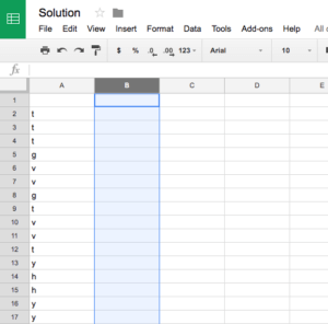 Alternate Row Color Based on Value Change in Google Sheets - Red Argyle