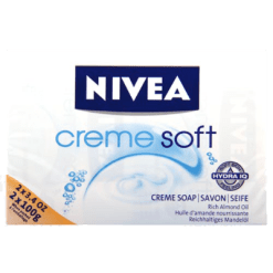 Nivea Creme Soft Soap Rich Almond Oil - 2pk