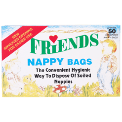 Friends Nappy Bags Odourised - 50ea