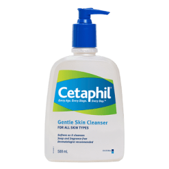 Cetaphil Gentle Skin Cleanser For All Skin Types - 500ml