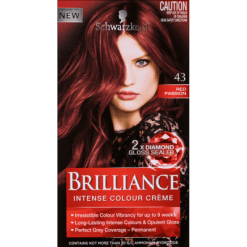 Schwarzkopf Hair Colour Red Passion 43