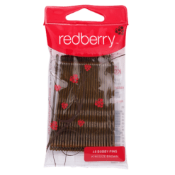 Redberry Kingsize Brown Bobby Pins