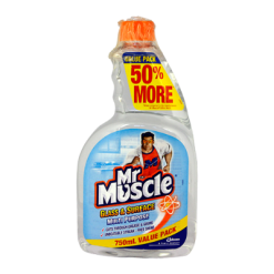 Mr Muscle Glass & Surface Multipurpose Value Pack Refill - 750ml