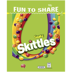 Skittles Sours Confectionery - 190g