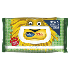 Sorbent Kids Flushable Moist Toilet Wipes - 40ea