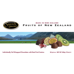 Supremely Gourmet Fruits Of New Zealand Chocolates - 200g