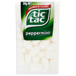 Tic Tac Peppermint Confectionery - 24g