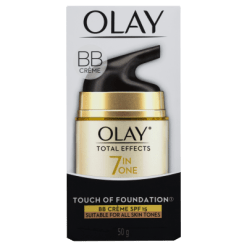 Olay Total Effects 7 In One Touch Of Foundation SPF15 Day Cream - 50g