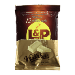 Whittaker's Mini Slab L&P Chocolate - 12pk