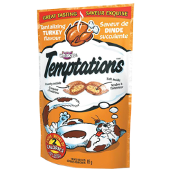 Whiskas Temptations Turkey Cat Food - 86.7g
