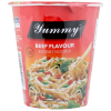 Yummy Noodles Beef Instant Noodle Cup - 60g