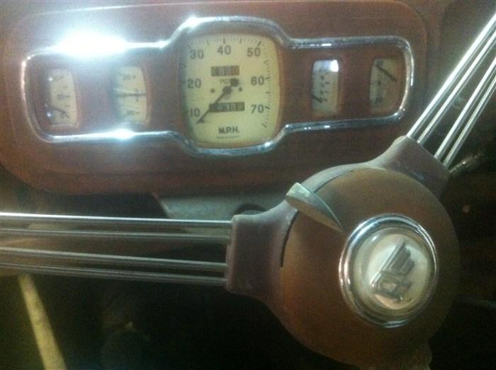 1950 Austin A40 Devon Red Bearing Automotive Service