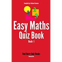 Easy Maths Quiz Book 1