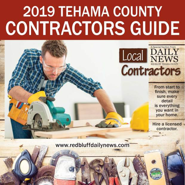 2019 Tehama County Contractors Guide