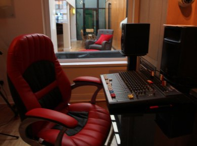 Avid Edit Suite at RedBox Recording Studios Belfast