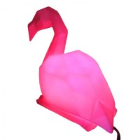 Pink Flamingo Lamp - Red Candy