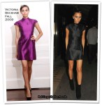 Runway To Dinner With Marc Jacobs - Victoria Beckham In Victoria Beckham Collection