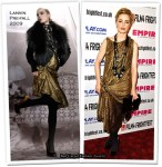 """Runway To """"Triangle"""" London Premiere - Melissa George In Lanvin"""