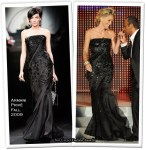 Runway To 2009 Rudolph Valentino Awards - Sharon Stone In Armani Privé