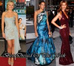 Best Dressed Of The Week - Kristen Bell In Marchesa, Veronica Webb In Christian Siriano & Iman In Donna Karan