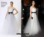 Runway To The Irene Diamond Award Gala - Lucy Liu In Monique Lhuillier