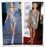 """Runway To """"The Road"""" LA Screening - Charlize Theron In Christian Dior"""