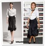 "Runway To ""Bad Lieutenant"" New York Premiere - Eva Mendes In Donna Karan"