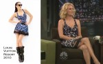 """Runway To """"Late Night With Jimmy Fallon"""" - January Jones In Louis Vuitton"""
