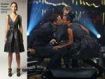 Runway To Norwegian Talk Show - Jada Pinkett-Smith In Naeem Khan
