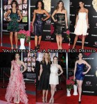 """Who Was Your Best Dressed At The """"Valentine's Day"""" LA Premiere?"""