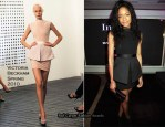 Marie Claire's Inspire & Mentor Campaign Party - Naomie Harris In Victoria Beckham Collection