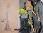 Beyonce Wears Ralph & Russo To Perform For President Obama At The White House