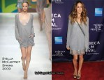"""""""Ultrasuede: In Search of Halston"""" New York Premiere - Sarah Jessica Parker In Stella McCartney"""