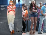"Runway To ""Start Without You"" Music Video Shoot - Alexandra Burke In Alexander Wang"
