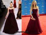 2010 Emmy Awards - Kyra Sedgwick In Monique Lhuillier