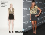 BlackBerry Torch Launch Party - Venus Williams In Alexander Wang