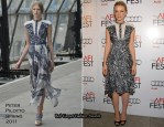 """Carey Mullgian In Peter Pilotto - Los Angeles Times """"Young Hollywood"""" Roundtable"""