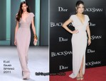 "Mila Kunis In Elie Saab – ""Black Swan"" New York Premiere"