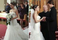 Brooke Davis Marries Julian Baker In BCBG Max Azria