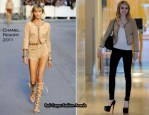 Sidewalk Style: Emma Roberts In Chanel