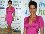 Halle Berry In Roberto Cavalli - Silver Rose Awards Gala